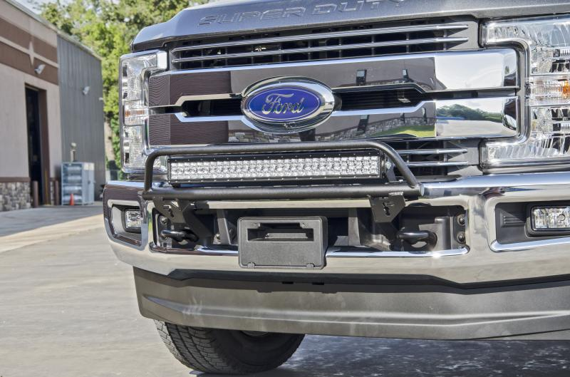 N Fab O R Light Bar Textured Black Ford F 350 Super Duty With