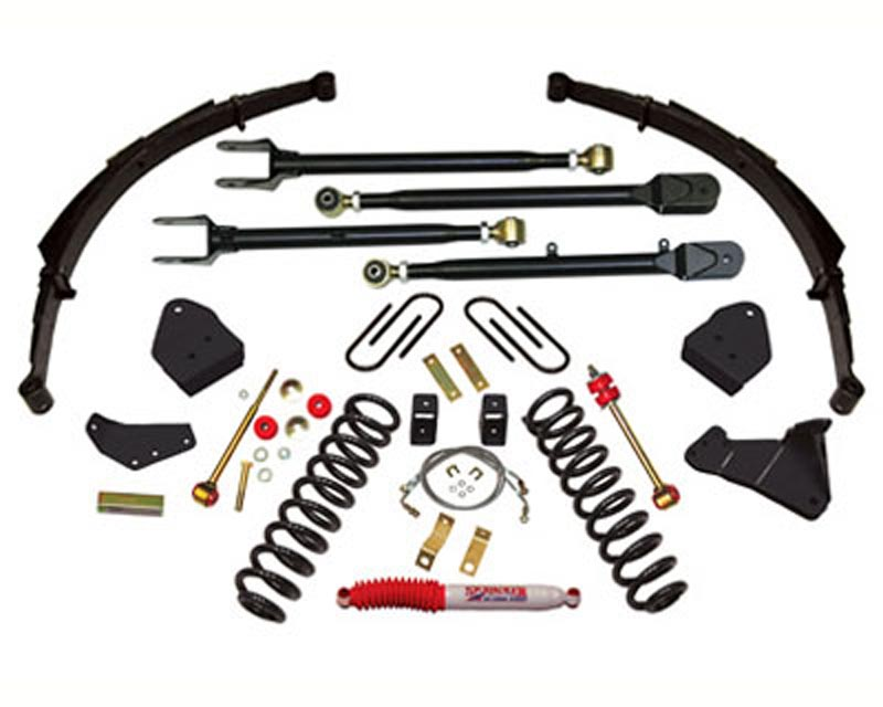 Skyjacker 6 Inch Lift Kit Ford F-250 Super Duty Turbo Diesel 4WD 05-07 - F56524KS