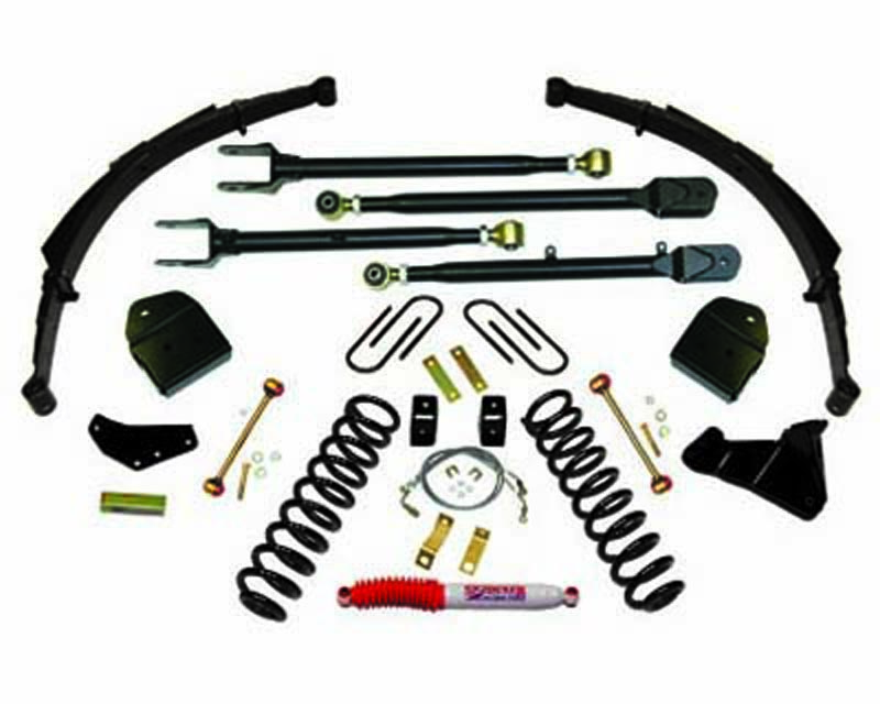 Skyjacker 4 Inch Lift Kit Ford F-250 Super Duty V8 4WD 08-10 - F84024KS