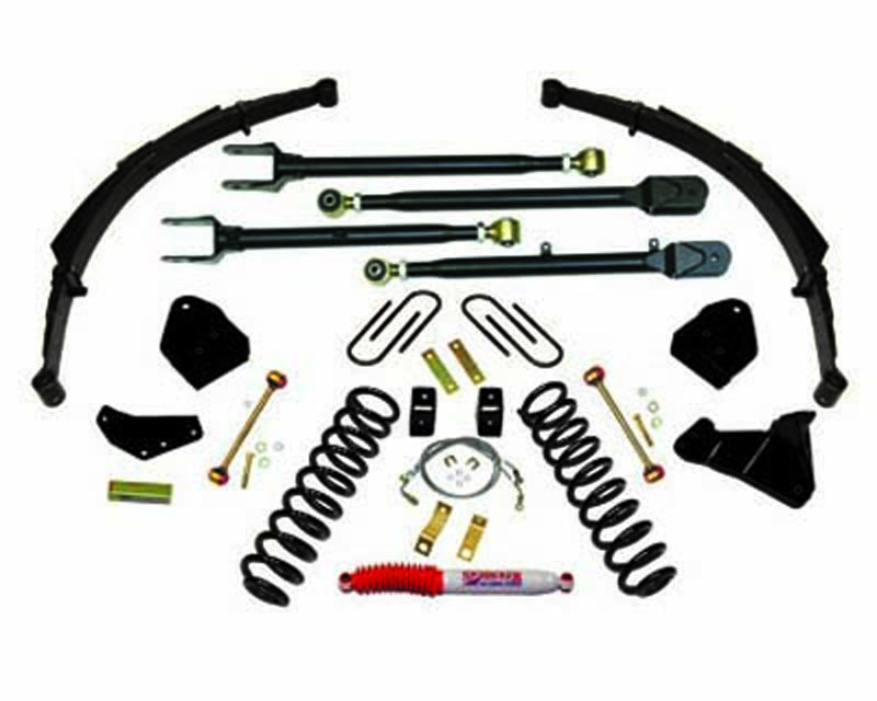 Skyjacker 6 Inch Lift Kit Ford F-250 Super Duty V8 4WD 08-10 - F86024KS