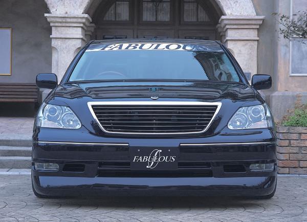 Image of FABULOUS Bonnet Spoiler Lexus LS 01-03