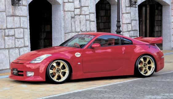 FABULOUS Complete Set Nissan 350Z 03-08 - FAB20331010001