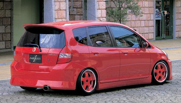 FABULOUS Rear Wing Honda Fit GD1-4 02-07 - FAB35611410001
