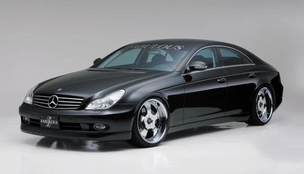 FABULOUS Complete Set Mercedes-Benz CLS W219 04-11 - FAB99361010001