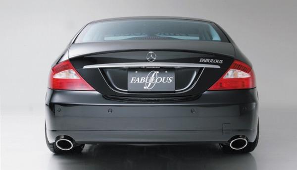FABULOUS Rear Wing Mercedes-Benz CLS W219 04-11 - FAB99361410001