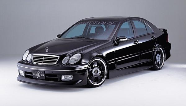 FABULOUS Complete Set Mercedes-Benz C-Class W203 01-07 - FAB99621010001