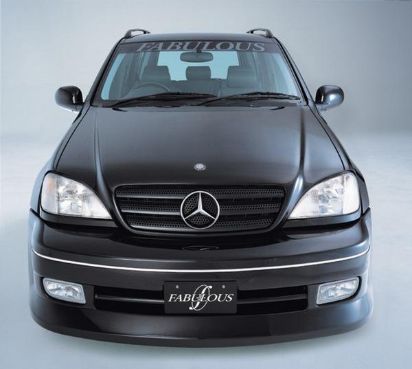 2012 Mercedes Benz M Class Body Structure: FABULOUS Front Bumper Spoiler Mercedes-Benz M-Class W163 98-05