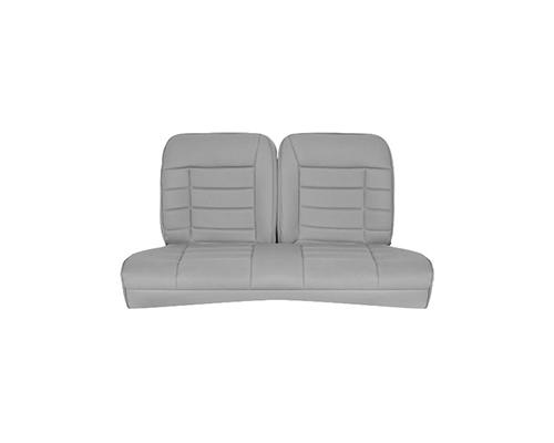 Corbeau Mustang Rear Seat Covers 83 93 Convertible Grey