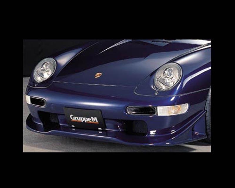 Image of GruppeM Aerodynamics Carbon Front Bumper Porsche 993 Carrera 2 Turbo 93-98