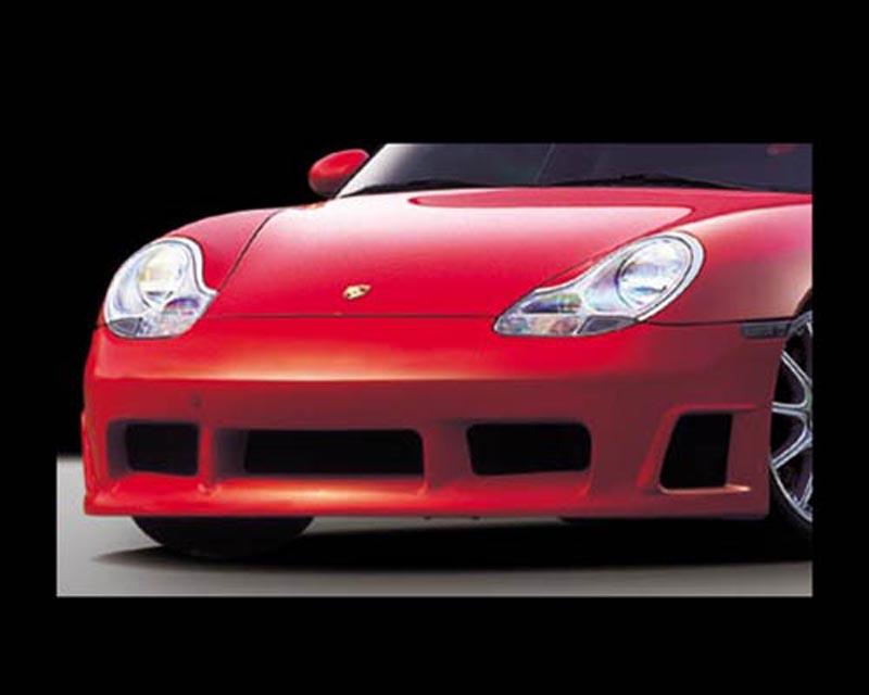 GruppeM Aerodynamics Carbon Front Bumper Porsche 996 GT3 02-05