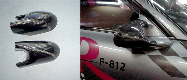 FEED Mirror Cover 03 - Carbon - Mazda RX-7 FD3S 93-02 - FED40121810003