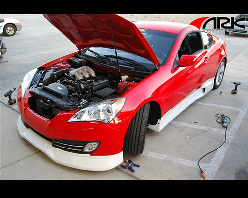 ARK C-FX Full Body Kit Fiber Glass Hyundai Genesis Coupe 10-12