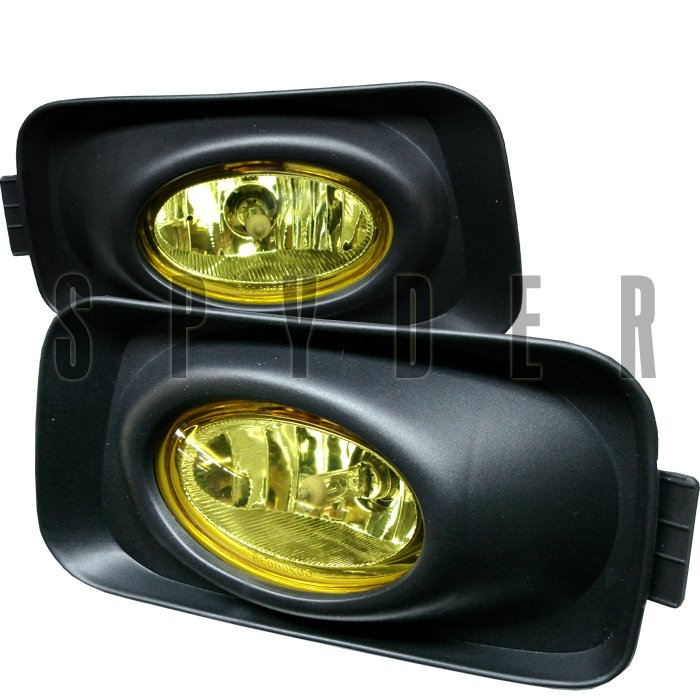 Spyder Acura Euro Accord Oem Yellow Fog Lights Tsx 03-05