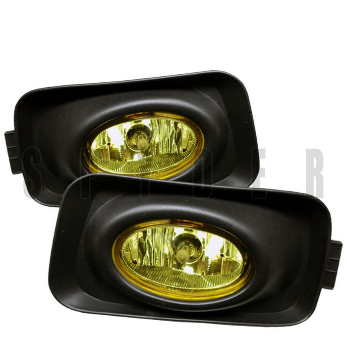 Spyder Acura Euro Accord Oem Clear Fog Lights Tsx 03-05 - FL-ATSX03