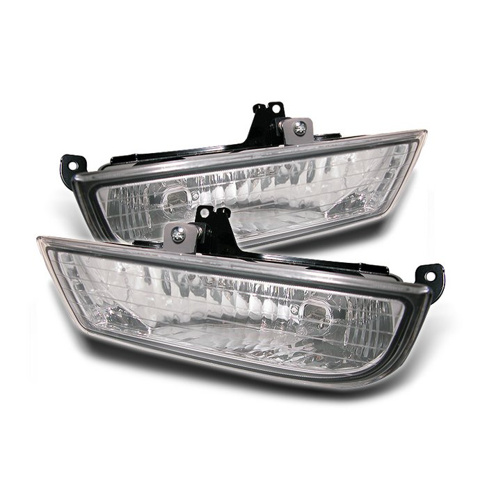 Spyder Oem Clear Fog Lights Honda Prelude 97-02 - FL-CL-HP97-C