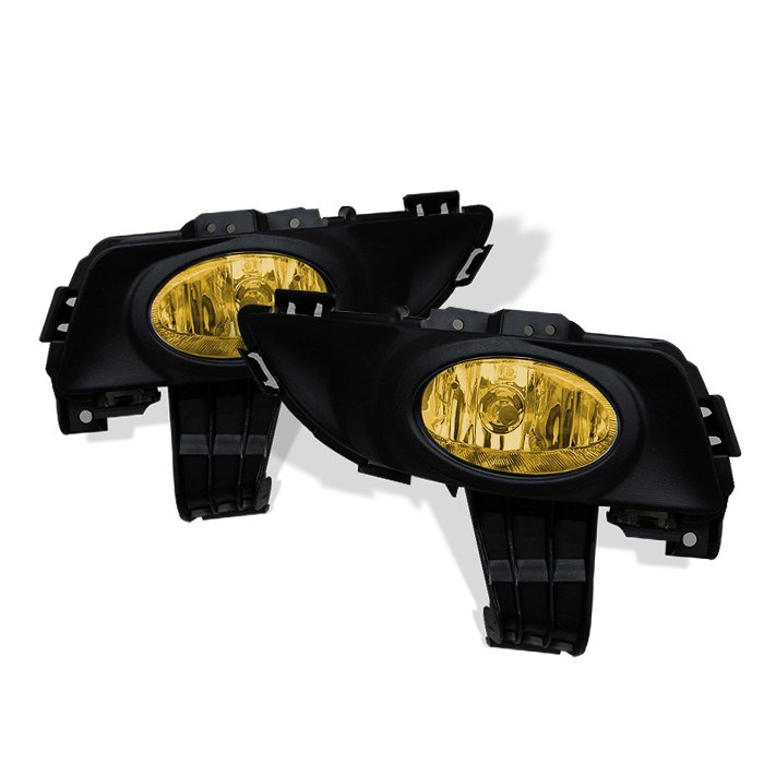 Spyder 4Dr Oem Yellow Fog Lights Mazda 3 03-06