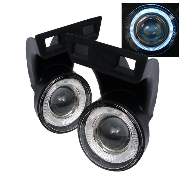 Spyder Halo Projector Clear Fog Lights Dodge Ram 94-01 - FL-P-DRAM94-HL