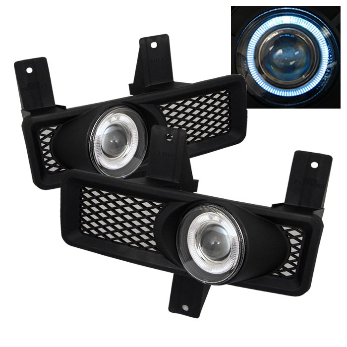Spyder Halo Projector Clear Fog Lights Ford F150 97-98 Expedition 97-98 - FL-P-FF15097-HL