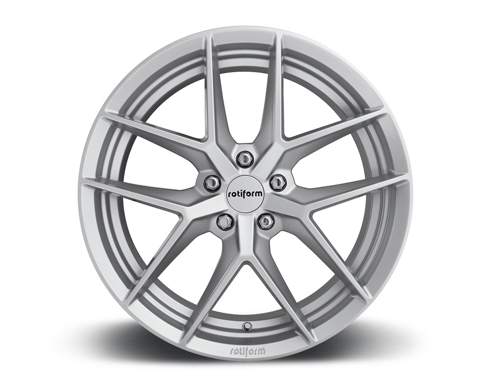 Rotiform FLG Gloss Silver Cast Monoblock Wheel 18x8.5 5x114.3 45mm - R133188565+45