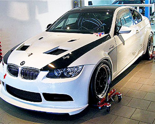 Flossman GT3 Roof Middle Section BMW E92 M3 08-13 - FLO-E92M3GT3-0007