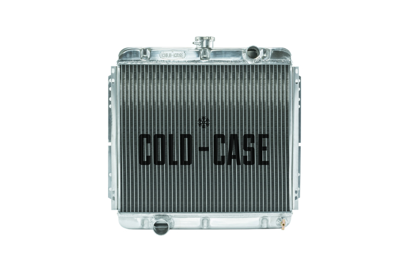 **Discontinued**67-69 Mustang 20 Inch Aluminum Performance Radiator MT Cold Case Radiators - FOM560TF