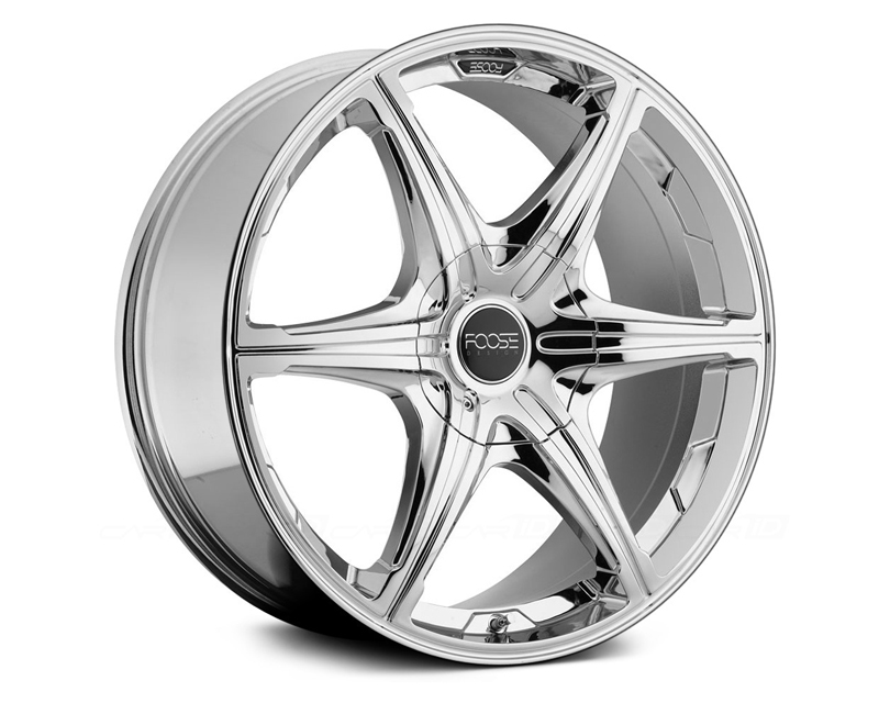 FOOSE 6 Speed F146 Chrome Wheel 22x9.5 5x115 | 5x120.65 +15mm - F146229506+15