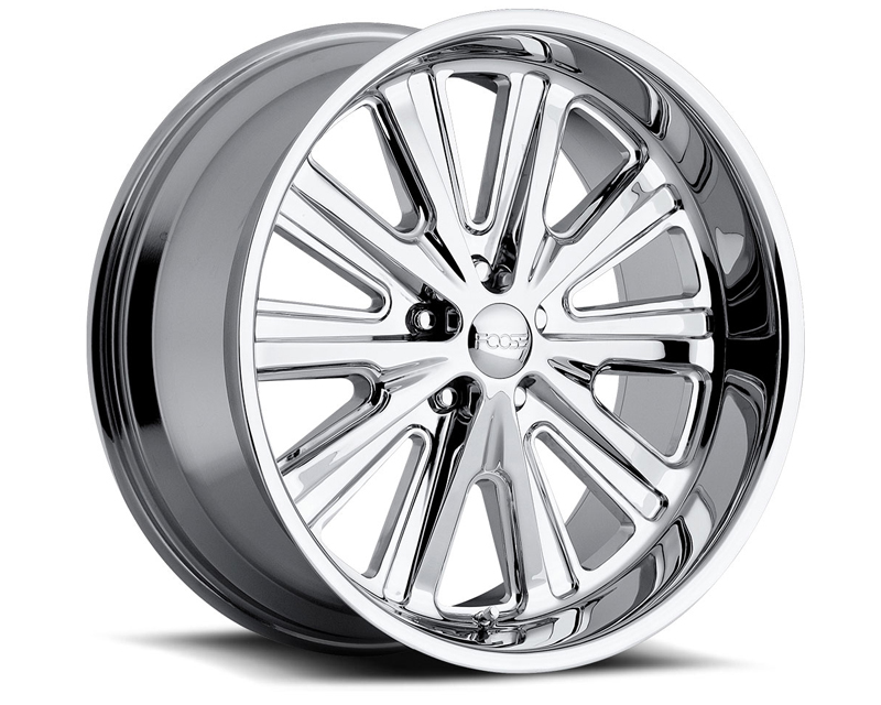 FOOSE Ascot F226 Polished Wheel 20x10 5x120.65 -13mm - F2262106150