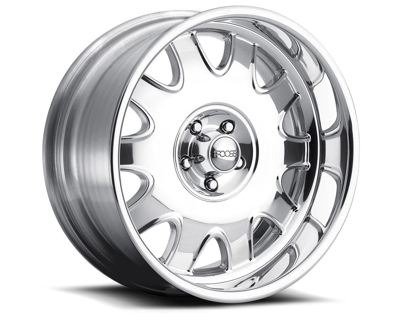FOOSE Challenger F223 Polished Wheel 19x8 5x114.3 +13mm - F2239806550