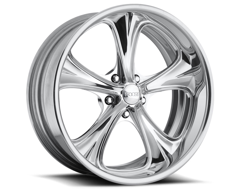 FOOSE Coupe F238 Polished Wheel 18x8 5x120.65 0mm - F2388806145
