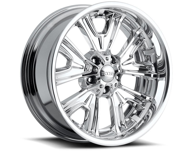 FOOSE Fishtail F205 Polished Wheel 18x8 5x120.65 -13mm - F2058806140