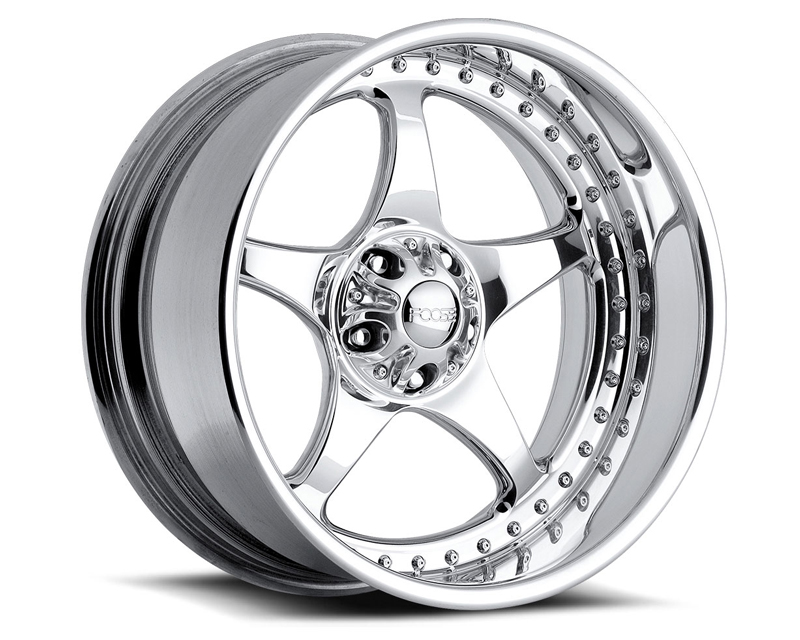 FOOSE Five00 F221 Polished Wheel 17x8 5x120.65 -13mm - F2217806140