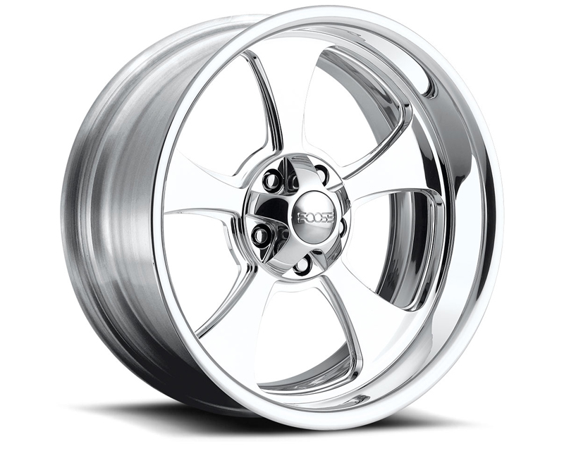 FOOSE Genuine F210 Polished Wheel 18x10 5x120.65 -13mm - F2108106150