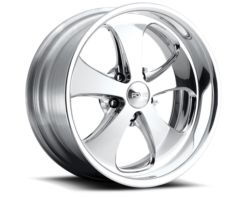 FOOSE Injector F211 Polished Wheel 18x8 5x114.3 +13mm - F2118806550