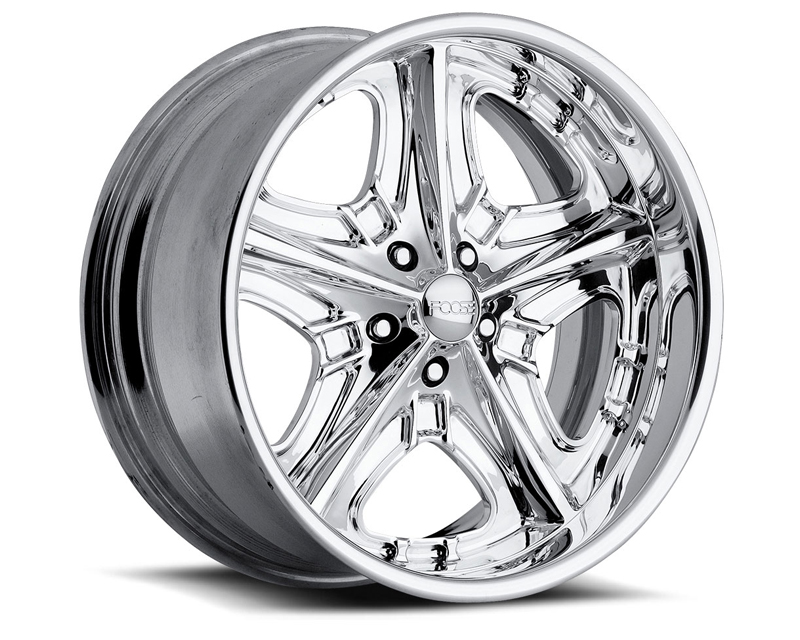 FOOSE Knight F220 Polished Wheel 17x7 5x120.65 0mm - F2207706140