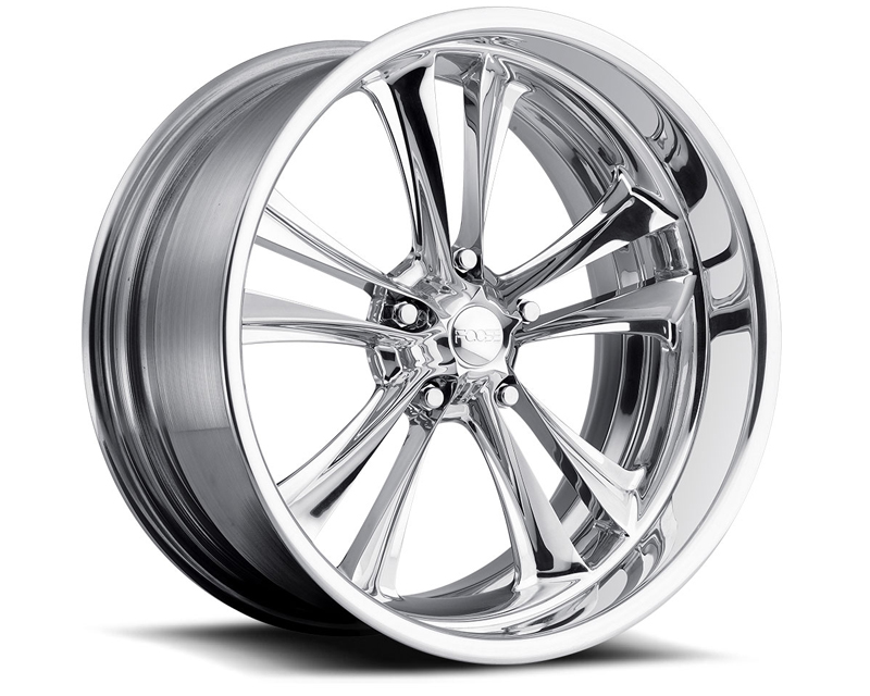 FOOSE Knuckle F227 Polished Wheel 20x12 5x114.3 +13mm - F2272026570