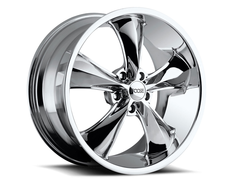 FOOSE Legend F105 Chrome Wheel 20x8.5 5x120.65 +7mm - F10520856150