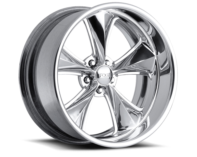 FOOSE Nitrous F201 Polished Wheel 17x10 5x120.65 +6mm - F2017106157