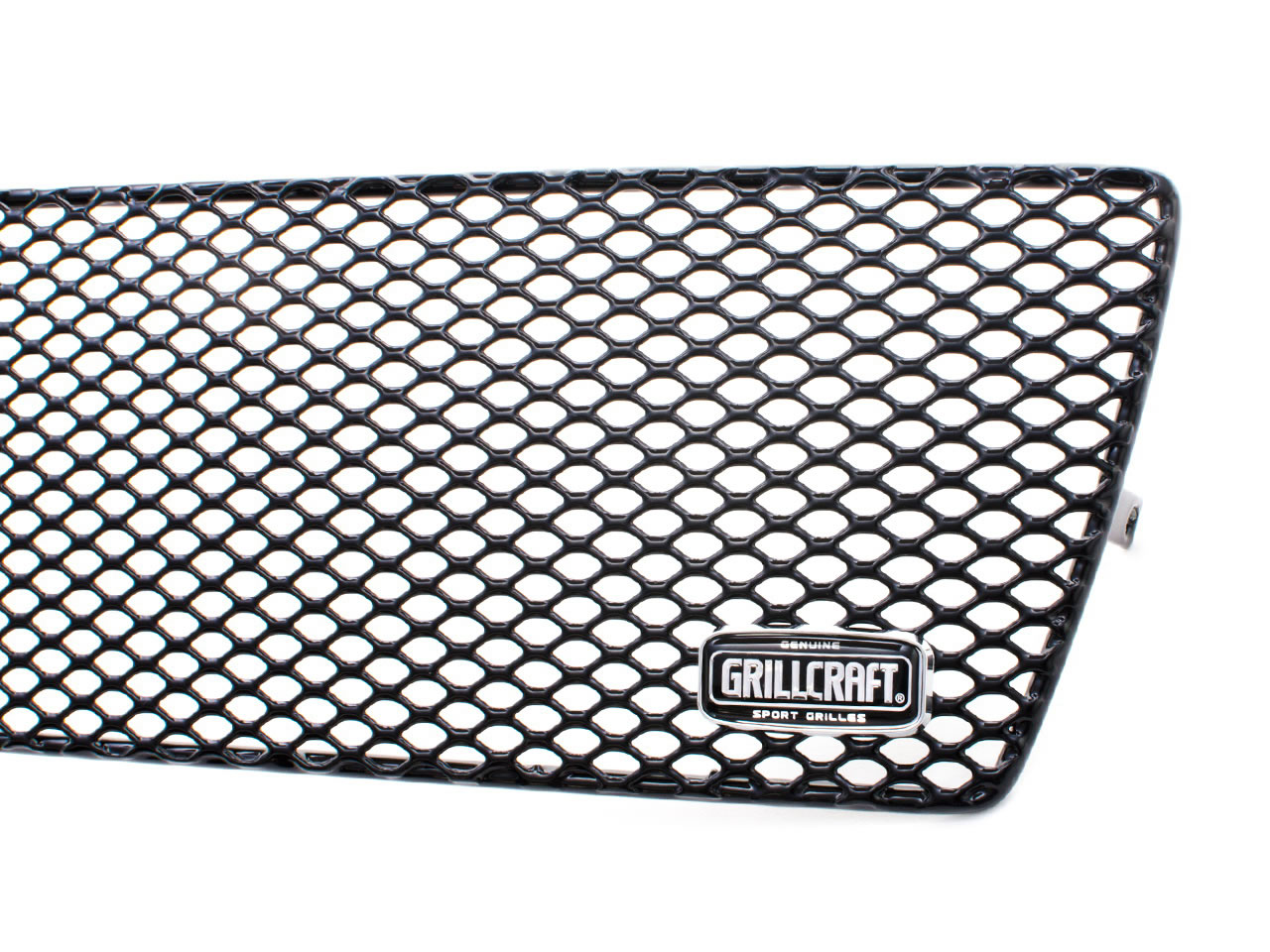 Grillcraft MX Series Black Steel Grille Fender Insert 2 piece Ford F-250 Super Duty Cabela&#39s 2009