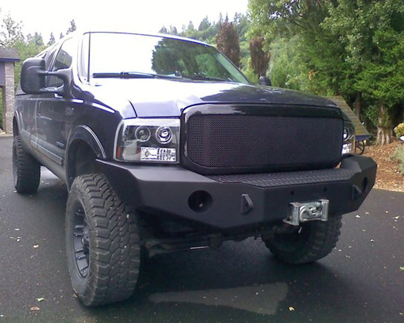 Expedition One Bare Metal Front Bumper Ford F