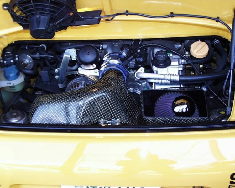 GruppeM Carbon Fiber Ram Air Intake System Porsche 996 GT3 02-03 - FRI-0138