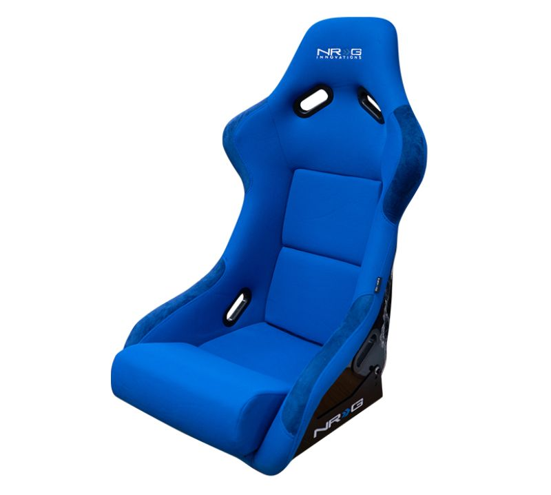 NRG FRP Bucket Seat Large Blue Large - FRP-300BL