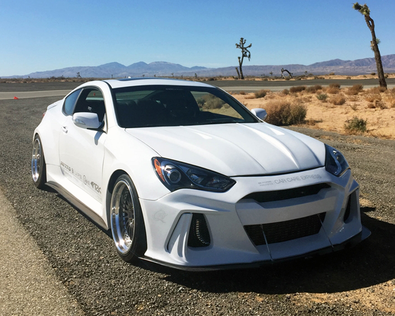 ARK Solus Side Skirts and Side Splitters Hyundai Genesis Coupe 10-16 - FS0702-1303