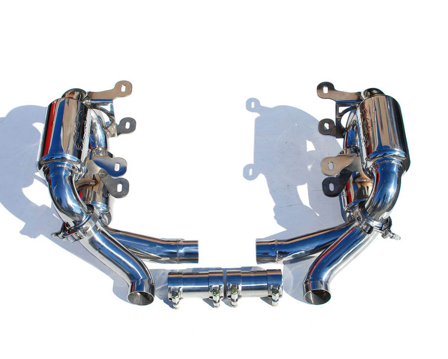 Fabspeed'supercup Exhaust System No Tips|Re-use OEM Tips Porsche 997 Carrera 05-08 - FS.POR.997.SCUP
