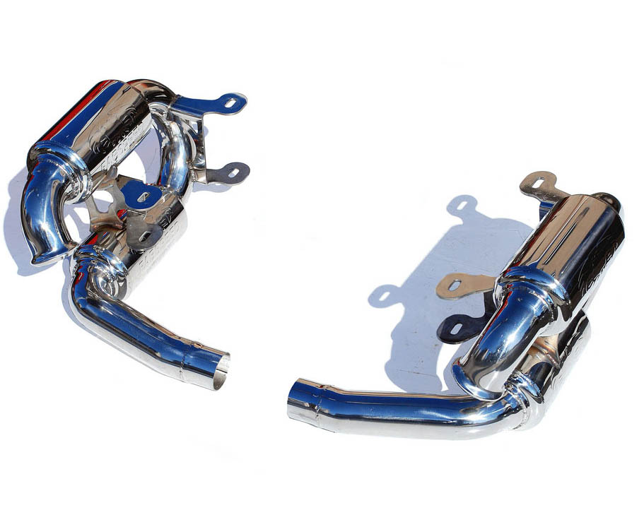 Fabspeed'supercup Exhaust System No Tips|Re-use OEM Tips Porsche 996 Carrera 99-04 - FS.POR.996.SCUP