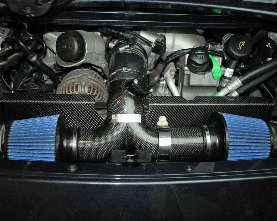 Fabsd Carbon Fiber Competition Intake Dual Conical Filters ... on