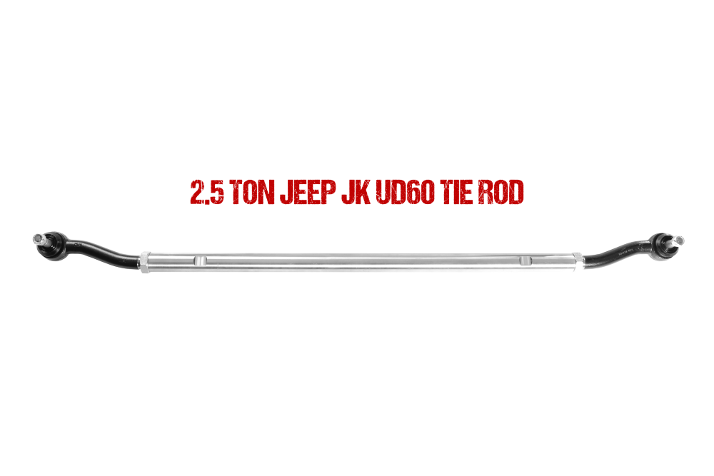 Jeep JL Ultimate Dana 60 2.5 Ton Tie Rod 18-Pres Wrangler JL Fusion 4x4 - FUS-UD60JL-TR