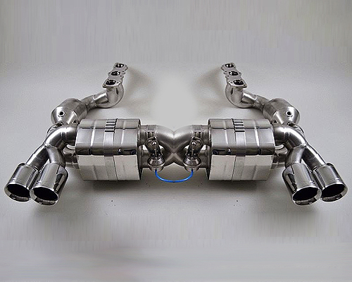 Image of FVD Brombacher Stainless Exhaust System Porsche 991 Carrera 3.8L 12-15