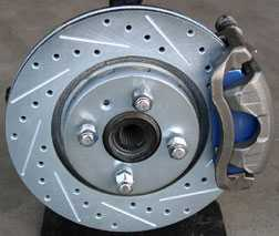 Performance Upgrade Drilled /& Grooved REAR Brake Discs to fit Nissan 200sx