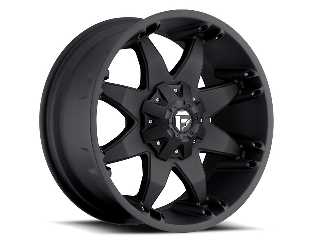 Fuel D509 Octane Matte Black 1-Piece Cast Wheel 20x9 8x180 25mm - D50920901860