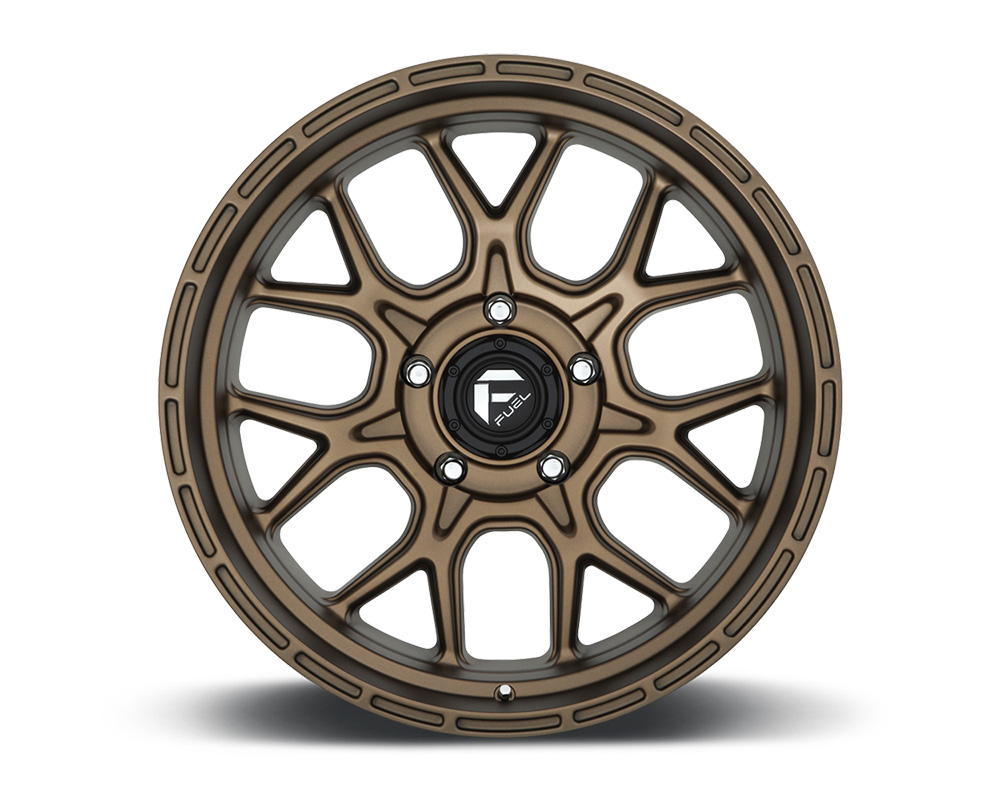 Fuel D671 Tech Bronze 1-Piece Cast Wheel 18x9 6x139.7 -12mm - D67118908445